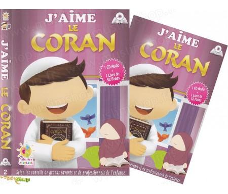 J'aime le Coran (1CD Audio + 1 Livre)