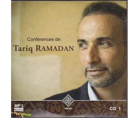 Conférences de Tariq Ramadan - CD1 / MP3 Audio (11 conférences + Le jeûne du corps et du coeur)