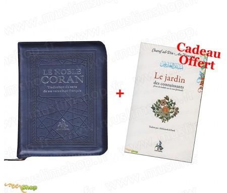 Noble Coran Zippé (2 coloris) - Traduction du Sens de ses versets en Français + 1 Livre Offert !