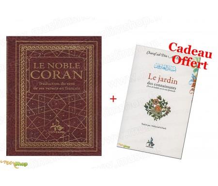 Le Noble Coran - Traduction du Sens de ses versets en français + 1 Livre Offert !