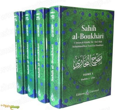 Sahih Boukhari Complet Arabe-Français - 4 Volumes