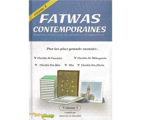 Fatwas contemporaines - Réponses religieuses aux problèmes d'aujourd'hui par les grands savants (2 volumes)