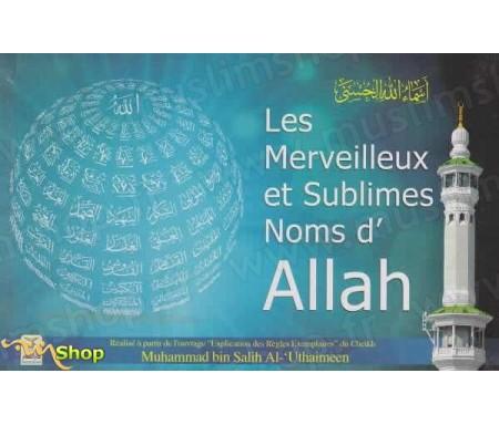 Les Merveilleux et Sublimes noms d'Allah