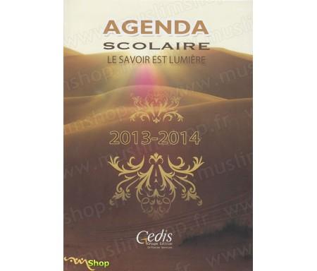 Agenda Scolaire 2013-2014 Marron