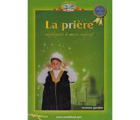 La Prière expliquée à mon Enfant - Garçon (Livre+K7)