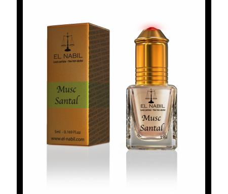 Parfum El Nabil - Musc Santal - 5 ml
