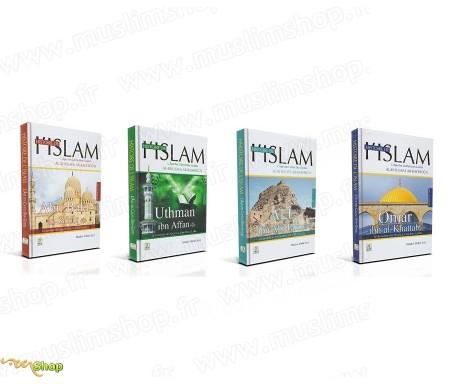 Pack 4 livres - L'Âge des 4 Califes Bien-guidés (Al-khulafa Ar-Rachidun)