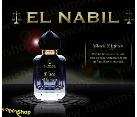 Eau de Parfum Spray El Nabil - Black Afgan - 50 ml
