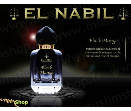 Eau de Parfum Spray El Nabil - Black Mango - 50 ml