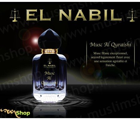 Eau de Parfum Spray El Nabil - Musc Al Quraishi - 50 ml