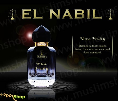 Eau de Parfum Spray El Nabil - Musc Fruity - 50 ml