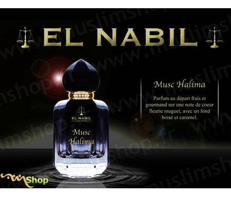 Eau de Parfum Spray El Nabil - Musc Halima - 50 ml