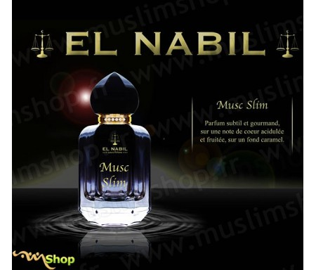 Eau de Parfum Spray El Nabil - Musc Slim - 50 ml