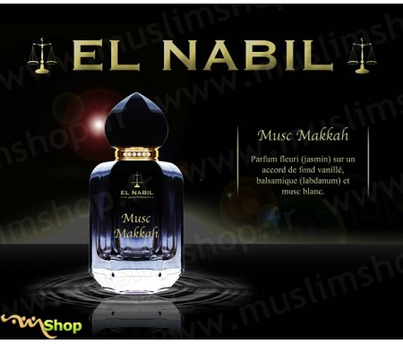 Eau de Parfum Spray El Nabil - Musc Makkah - 50 ml