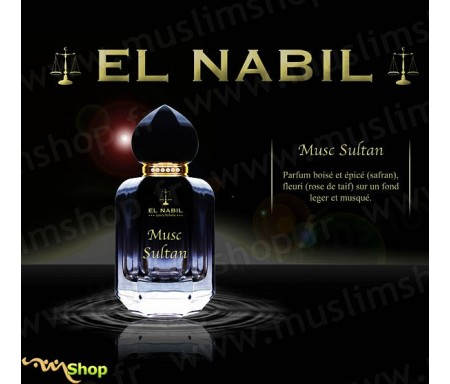 Eau de Parfum Spray El Nabil - Musc Sultan - 50 ml