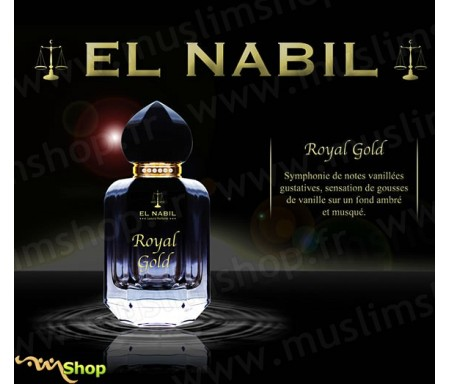 Eau de Parfum Mixte Spray El Nabil - Royal Gold - 50 ml