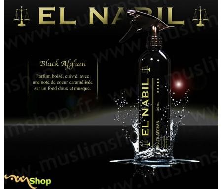 "Désodorisant El Nabil ""Black Afghan"" - 500ml"