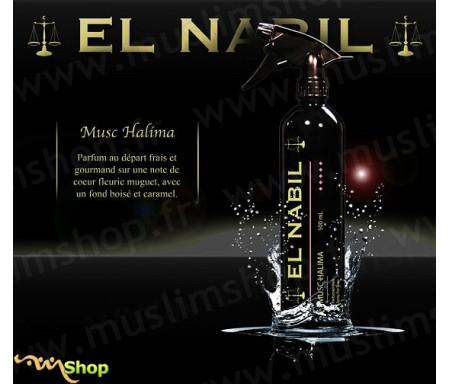"Désodorisant El Nabil ""Musc Halima"" - 500ml"