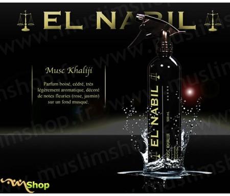 """Désodorisant El Nabil """"Musc Khaliji"""" - 500ml"""