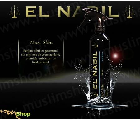 "Désodorisant El Nabil ""Musc Slim"" - 500ml"