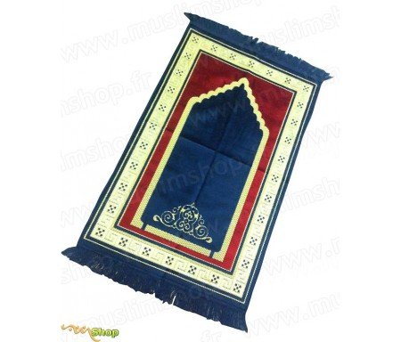 Tapis de Prière Adulte Velours Luxe (6 coloris)