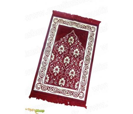 Tapis de prière Adulte Velours Luxe Floral (5 coloris)