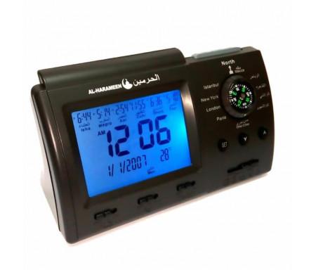 Réveil avec calcul automatique des horaires des prières HA-3005