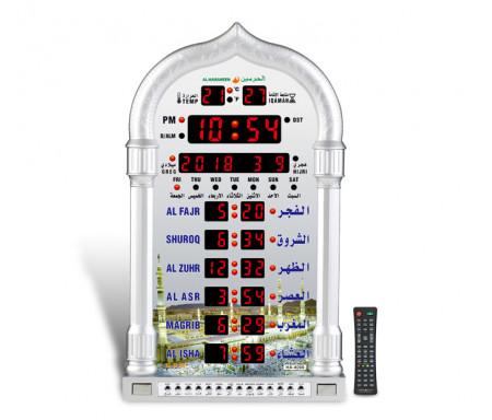 Horloge murale automatique avec appel à la Prière Azan HA-4008