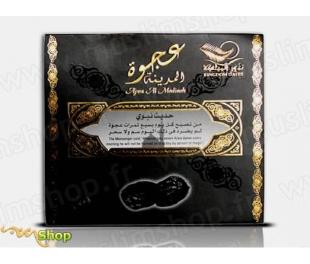 Dattes Al'Ajwa de Medine emballées