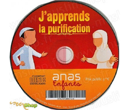 J'apprends la purification - CD Audio - Version Garçon