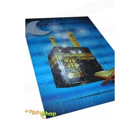 Puzzle Kaaba Mooslim Univers (70 pièces) - News Enfants