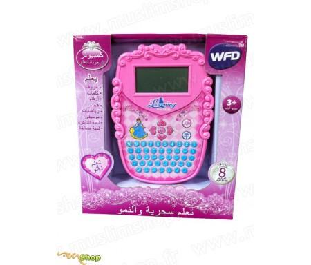 Ordinateur Portable pour Apprendre et Jouer Rose - News Enfants
