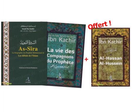 Pack - Biographie Histoire du Prophète et des Compagnons + 1 livre offert !