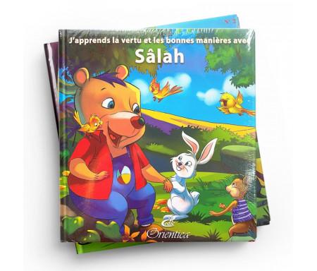 """Pack 2 livres """"J'apprends la Vertu et les bonnes manières avec Sâlah"""""""