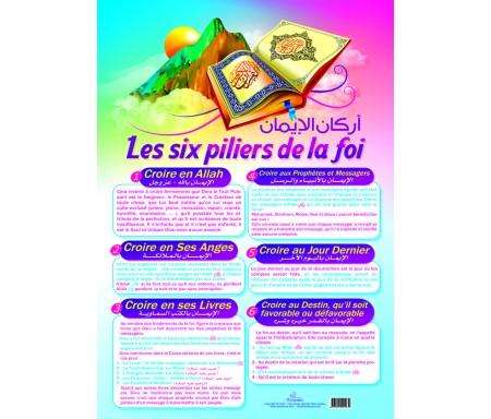 """Poster """"Les Six piliers de la Foi"""""""