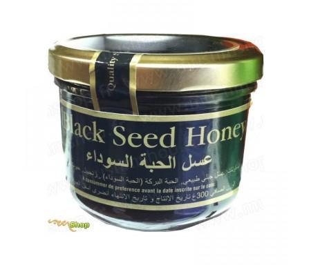 Miel à la graine de nigelle et gingembre (Zanjabil)