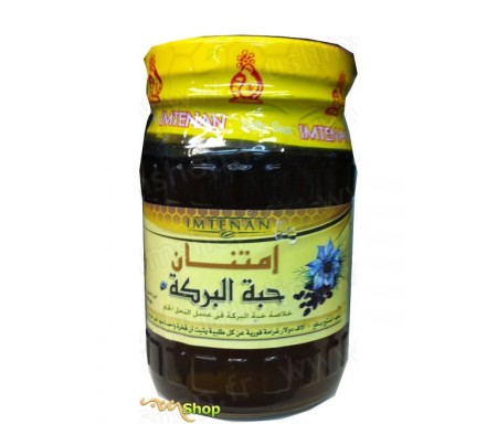 Miel de fleur de Nigelle - Imtenan