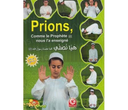 Prions comme le Prophète nous l'a enseigné - Garçon