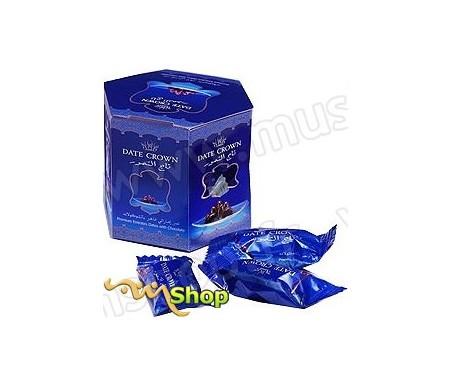 Dattes enrobées au Chocolat fourrés d'une Amande - Pack 90g