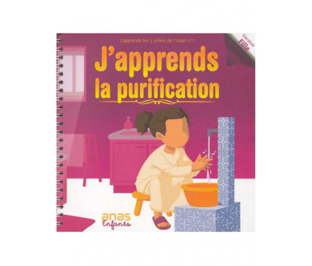 J'apprends la purification - Version fille (livret + cd)