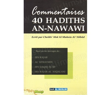 Commentaires 40 hadiths An Nawawi