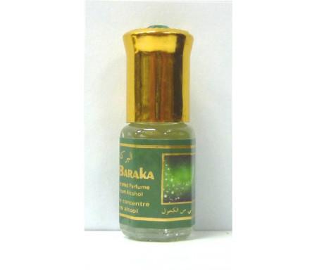 """Parfum concentré sans alcool Musc d'Or """"Al-Baraka"""" (3 ml) - Mixte"""