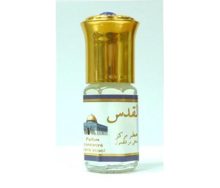 """Parfum concentré sans alcool Musc d'Or """"Al-Quds"""" (3 ml) - Pour hommes"""