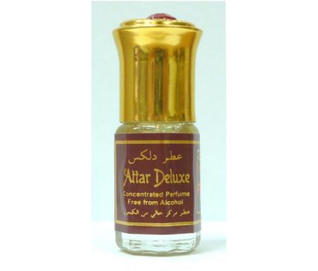 """Parfum concentré sans alcool Musc d'Or """"Attar Deluxe"""" (3 ml) - Hommes"""