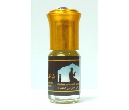 """Parfum concentré sans alcool Musc d'Or """"Du'a'"""" (3 ml) - Mixte"""