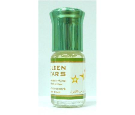 """Parfum concentré sans alcool Musc d'Or """"Golden Stars"""" (3 ml) - Pour hommes"""