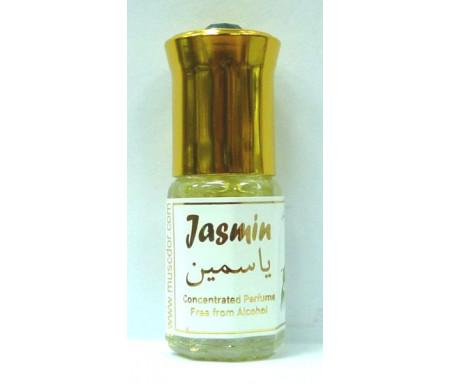 """Parfum concentré sans alcool Musc d'Or """"Jasmin"""" (3 ml) - Mixte"""
