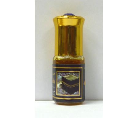 """Parfum concentré sans alcool Musc d'Or """"Musc Al-Kaaba"""" (3 ml) - Pour hommes"""