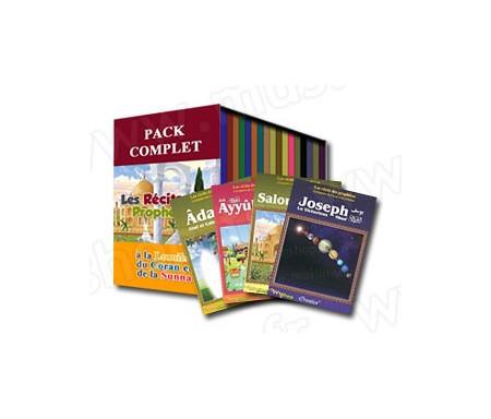 Pack 20 livres : Les récits des prophètes à la lumière du Coran et de la Sunna (Collection complète)