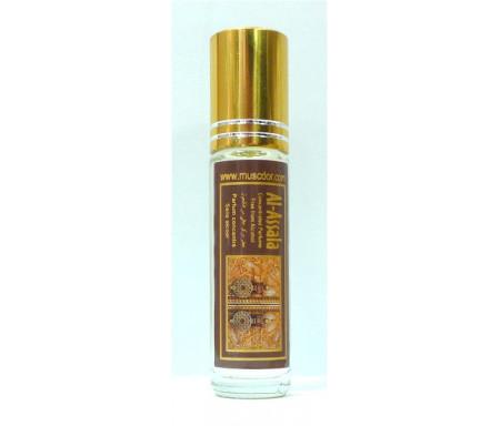 """Parfum concentré sans alcool Musc d'Or """"Al-Assala"""" (8 ml) - Pour hommes"""